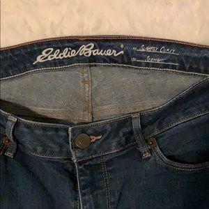 Eddie Bauer Slightly Curvy Straight Jeans size 10